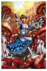 Grimm Fairy Tales Presents Steampunk Alice In Wonderland #1 - Cover D by Jose Luis
