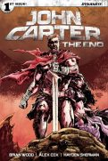 John Carter The End #1 - Cover D by Gabriel Hardman