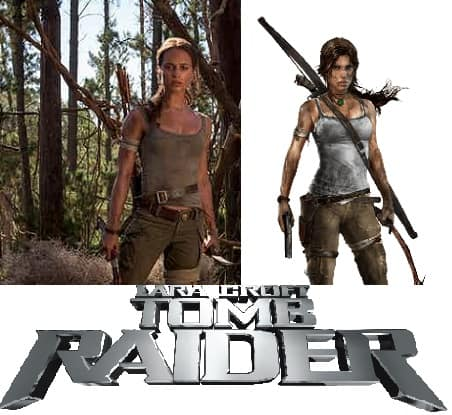 First Look at Alicia Vikander as the New Lara Croft