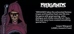 Brigands praise 1