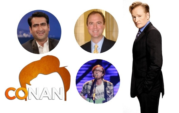 Last Night on CONAN - 4/24/17: Kumail Nanjiani | Representative Adam Schiff | Real Estate