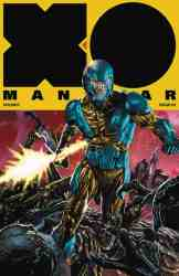X-O Manowar #3 - Interlocking Variant by Mico Suayan