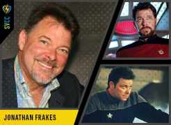 Saturday and Sunday - Commander Riker in Star Trek: The Next Generation