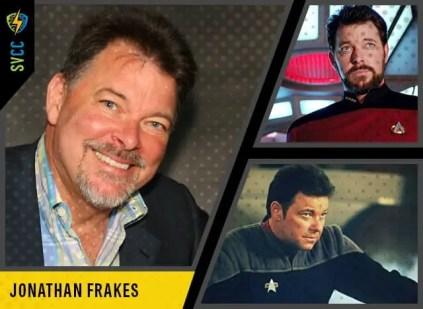 Saturday and Sunday - Commander Riker in Star Trek: The Next Generation