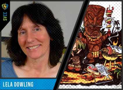 Best known for her work for Eclipse and Marvel, her 2D animation on Maniac Mansion, Day of the Tentacle and Sam and Max Hit the Road games for LucasArts