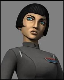 Mary Elizabeth McGlynn - Governor Arihnda Pryce: Star Wars Rebels