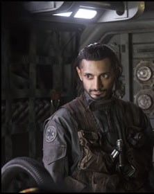 Riz Ahmed - Bodhi Rook- Rogue One: A Star Wars Story