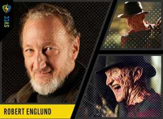 Saturday and Sunday - Freddy Krueger from the Nightmare on Elm Street Horror Films