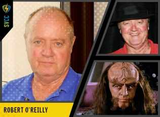 Best known for playing Klingon Chancellor Gowron and his enemy Duras in Star Trek: The Next Generation