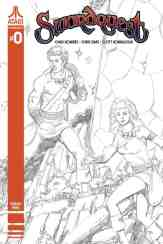 Swordquest #0 - Cover D by George Perez