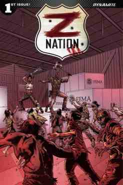 Z Nation #1 - Cover H - Retailer Shared Exclusive Cover by Edu Menna