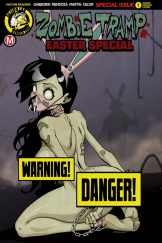 Zombie Tramp Easter Special 2017 - Cover B - Risque Variant by Dan Mendoza