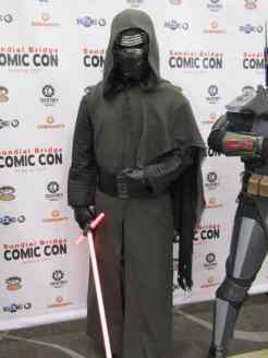 The force is strong with Kylo Ren