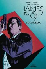 James Bond- Black Box #3 - Cover B by Patrick Zircher