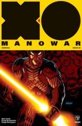 X-O Manowar #6 - Cover B by DAVE JOHNSON