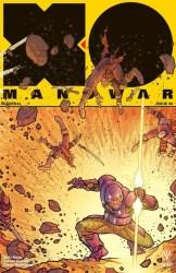 X-O Manowar #6 - Interlocking Variant Cover by RYAN BODENHEIM