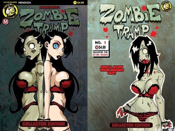 Take a Walk on the Dark Side w/ ZOMBIE TRAMP: ORIGINS from Dan Mendoza & Action Lab: Danger Zone