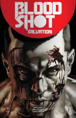 Bloodshot Salvation #1 - Suayan Metal Variant