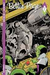 Bettie Page #2 - Cover B by Scott Chantler