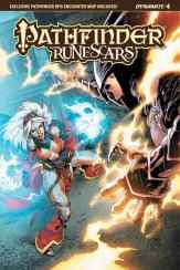 Pathfinder: Runescars #4 - Cover C by Geraldo Borges