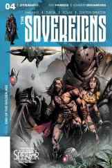 Sovereigns #4 - Cover B by Johnny Desjardins