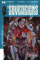 Sovereigns #4 - Cover C by Denis Medri