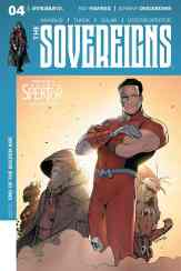 Sovereigns #4 - Cover D by Raul Trevino