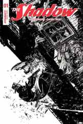 The Shadow #1 - B&W Incentive Cover by Michael Kaluta