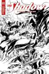 The Shadow #1 - B&W Incentive Cover by Neal Adams