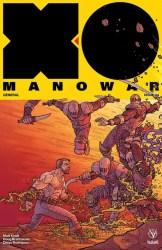 X-O Manowar #4 - Interlocking Variant by Ryan Bodenheim