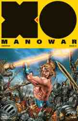 X-O Manowar #7 - Ryp Interlocking Variant