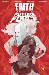 Faith and the Future Force #1 - Variant Cover by Marguerite Sauvage