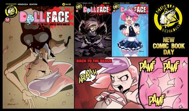 [Preview] Action Lab: Danger Zone's 8/23 Release: DOLLFACE #8