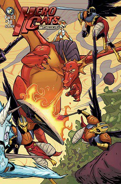 [Preview] Action Lab's 8/23 Release: HERO CATS OF SKYWORLD Pt. 3 (HERO CATS #18)