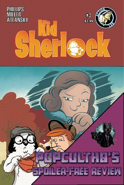 PopCultHQ Comic Book Review: KID SHERLOCK #3 from Action Lab Entertainment