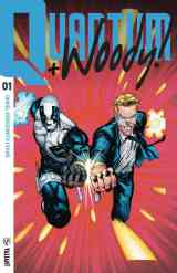 QUANTUM AND WOODY #1 – Extreme Ultra-Foil Chase Variant by Geoff Shaw