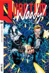 QUANTUM AND WOODY #1 – Cover B (Extreme Ultra-Foil) by Geoff Shaw