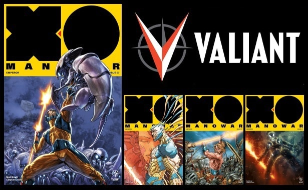 [Preview] Valiant's 9/27 Release: X-O MANOWAR #7