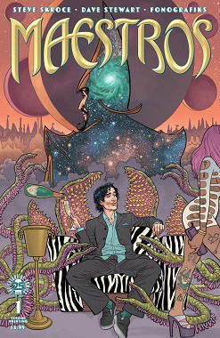 Image Comics' Wickedly Fun & Magical New Series MAESTROS by Steve Skroce Sent Back for Second Printing to Meet Demand