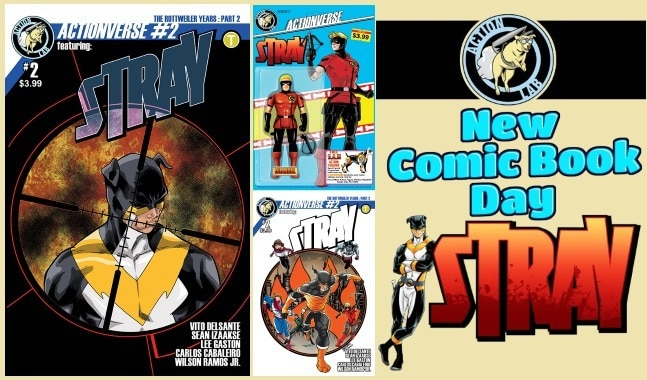 [Preview] Action Lab's 10/18 Release: ACTIONVERSE #2 featuring STRAY