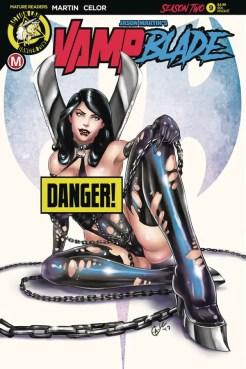 Vampblade Season 2 #9 - Cover F by David Harrigan
