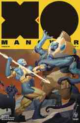 X-O Manowar #11 - Interlocking Variant by Ariel Olivetti