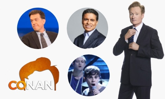 Last Night on CONAN - 12/11/17: Ed Helms | Fareed Zakaria | Electric Guest
