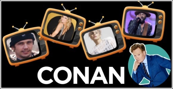 Last Night on CONAN - 12/12/17: James Franco & Ari Graynor | Noomi Rapace | Gary Clark Jr.