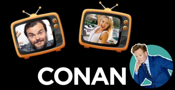 Last Night on CONAN - 12/14/17: Jack Black | Kate Hudson