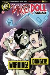 Danger Doll Squad #3 - Cover D by Dan Mendoza