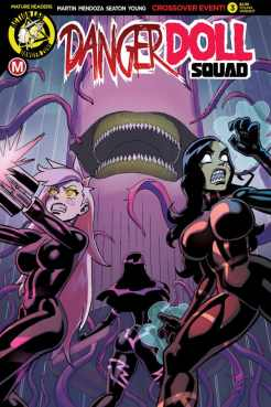 Danger Doll Squad #3 - Cover E by Winston Young