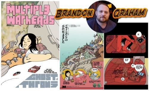 [Preview] Image Comics to Release Brandon Graham's MULTIPLE WARHEADS: GHOST THRONE One-Shot This February