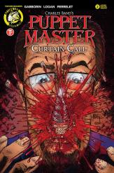 Puppet Master: Curtain Call #2 - Cover C by Andrew Magnum & Gene Jiminez