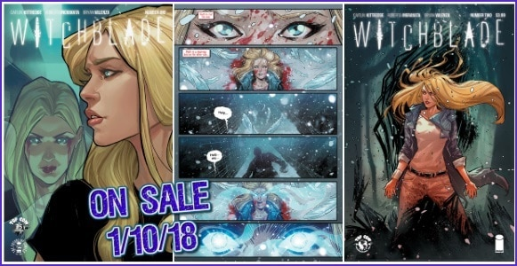 [Second Printing] Fans Love WITCHBLADE #1 by Caitlin Kittredge, Roberta Ingranata & Bryan Valenza, Image Comics to Release Reprint Alongside Issue Two